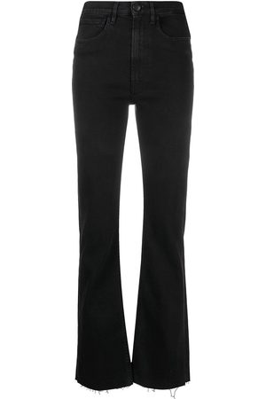 3x1 Women Straight - Mid-rise straight-leg jeans