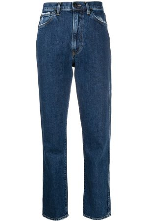 3x1 Women Straight - Mid-rise straight-leg jeans