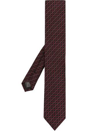 Dolce & Gabbana Diagonal-stripe silk tie