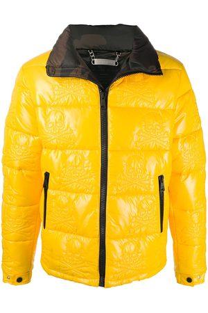 Philipp Plein Puffer Jackets - Skull padded jacket