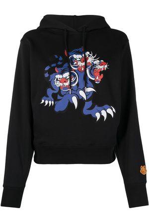 Kenzo Women Hoodies - X Kansai Yamamoto Three Tigers hoodie