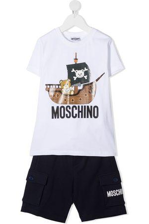 Moschino Pirate Teddy Bear print tracksuit set