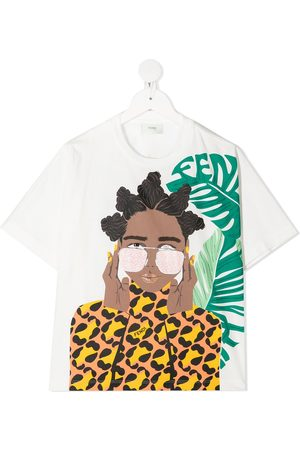 Fendi Monogram-print T-shirt