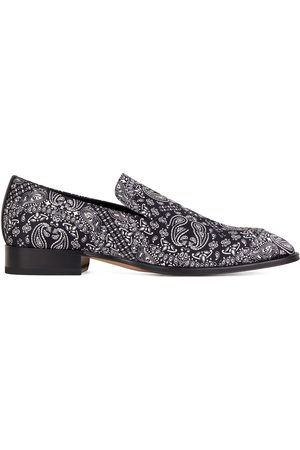 Giuseppe Zanotti Men Loafers - Floral print loafers