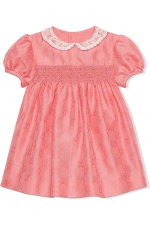 Gucci Baby Printed Dresses - GG pattern dress