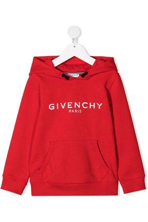 Givenchy Logo-print long-sleeve hoodie