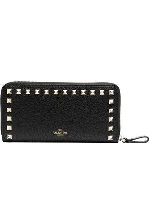 VALENTINO GARAVANI Rockstud-embellishment zip-fastening wallet