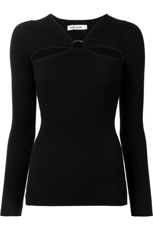 Anna Quan Laila cut-out knitted top