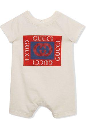 Gucci Logo-print cotton shorties