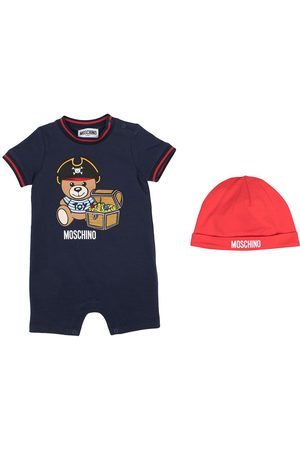 Moschino Teddy shortsleeved babygrow