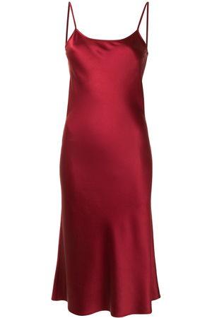 Voz Women Casual Dresses - Midi silk slip dress