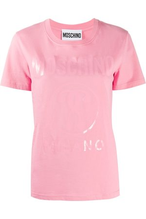Moschino Tonal logo print T-shirt