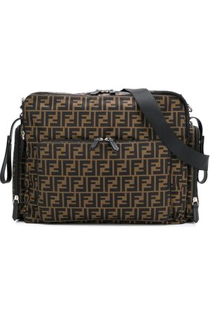 Fendi FF print changing backpack