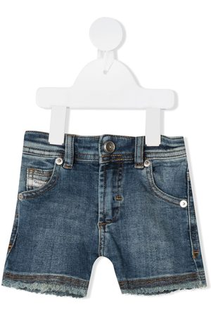 Diesel Mid-rise denim shorts