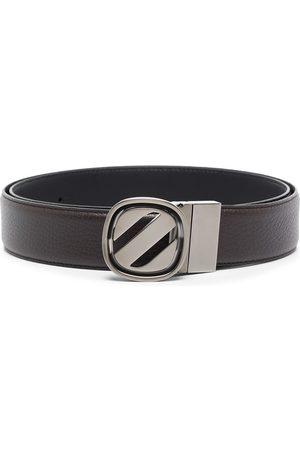 Ermenegildo Zegna Buckle-fastening leather belt