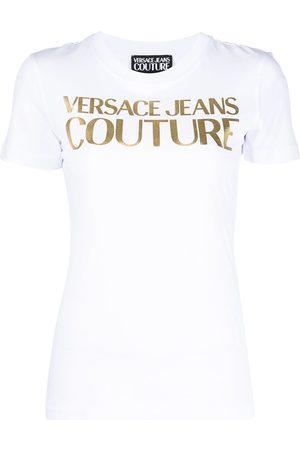 VERSACE Foil logo T-shirt