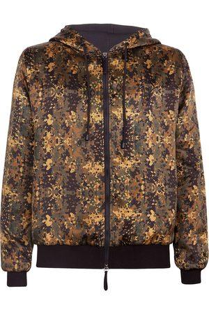 Giuseppe Zanotti Elmer camouflage-print silk hoodie