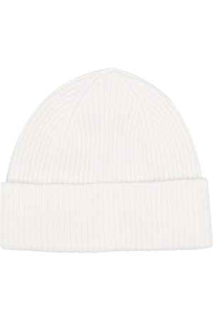 Le Bonnet Rib-knit beanie hat - Neutrals