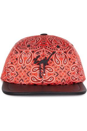 Giuseppe Zanotti Cohen bandana-print baseball cap