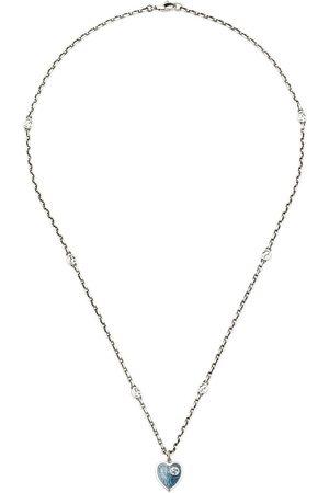 Gucci GG heart pendant necklace