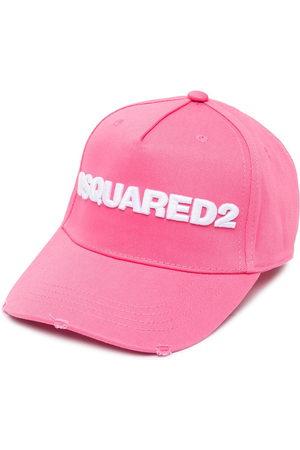 Dsquared2 Logo-appliqué cap