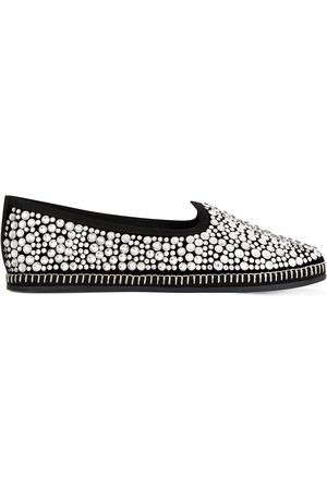 Giuseppe Zanotti Women Loafers - Crystal-embellished loafers