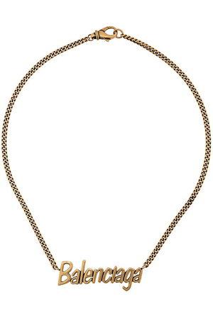 Balenciaga Typo necklace