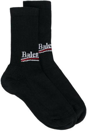Balenciaga Men Socks - Bal logo socks