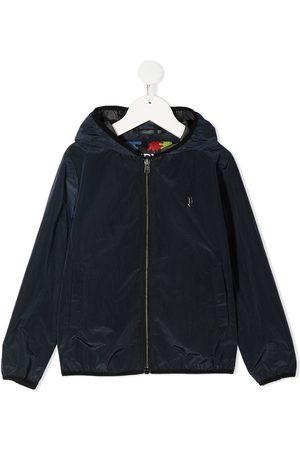 HERNO Crepe de chine hooded jacket