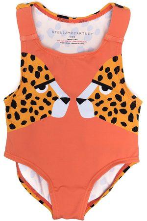 Stella McCartney Baby Swimsuits - Tiger-print swimsuit
