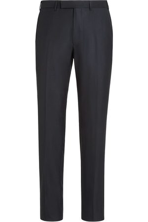 Ermenegildo Zegna Pressed-crease tailored trousers