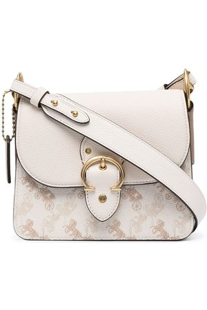 Coach Beat monogram-print shoulder bag - Neutrals