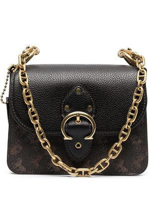 Coach Beat carriage-print shoulder bag