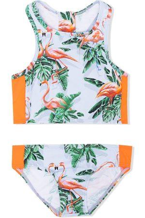 Stella McCartney Flamingo-print bikini