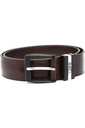 Diesel Distressed-effect leather belt