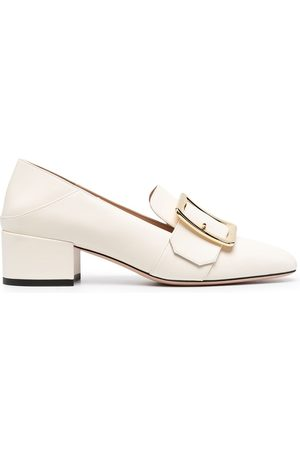 Bally Buckle-embellished loafers - Neutrals