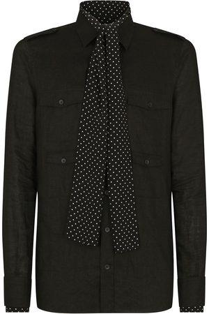 Dolce & Gabbana Tie-neck shirt