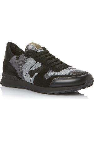 VALENTINO GARAVANI Valentino Men's Camouflage Lace Up Sneakers
