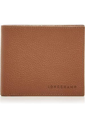 Longchamp Le Foulonne Leather Bi Fold Wallet