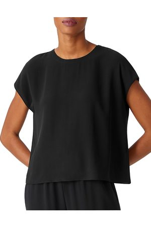 Eileen Fisher Women Tops - Silk Crewneck Top