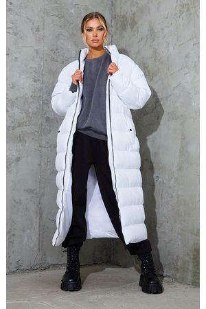 PRETTYLITTLETHING Maxi Longline Puffer Jacket