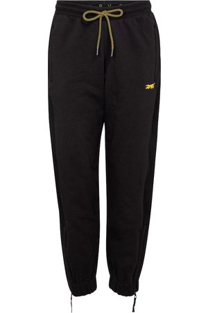 Reebok Logo cotton-jersey trackpants
