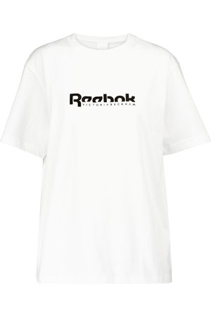 Reebok Logo cotton-jersey T-shirt