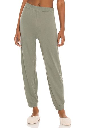 Only Hearts Jogger Pants in Olive.