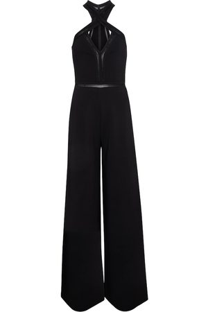 Stella McCartney Halterneck wide-leg jumpsuit