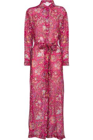 Etro Floral cotton-blend shirt dress