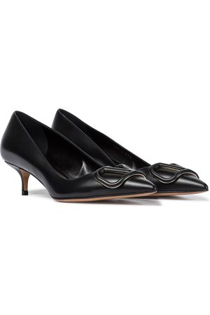 VALENTINO GARAVANI VLOGO leather pumps
