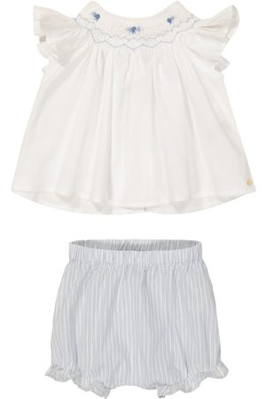 Tartine Et Chocolat Baby cotton top and shorts set