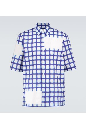 DRIES VAN NOTEN Short-sleeved cotton shirt
