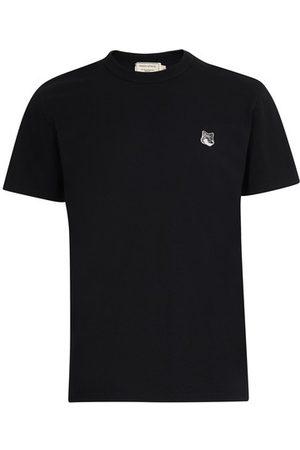 Maison Kitsuné Fox head patch t-shirt